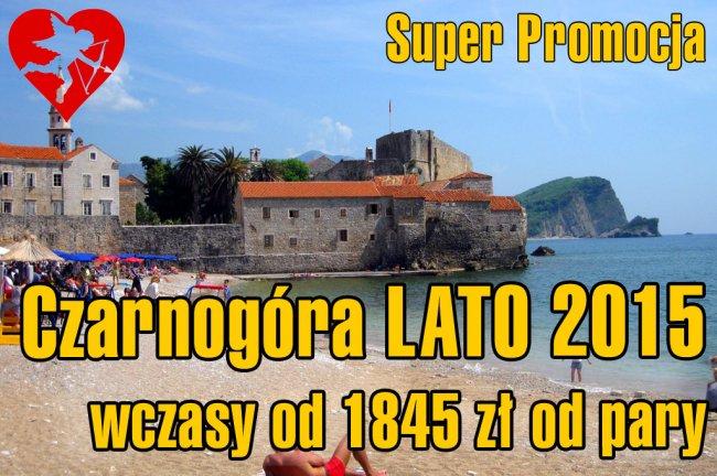 Czarnogóra  - Lato 2015