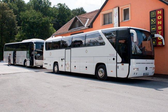 Wakacyjne przejazdy - przeloty
